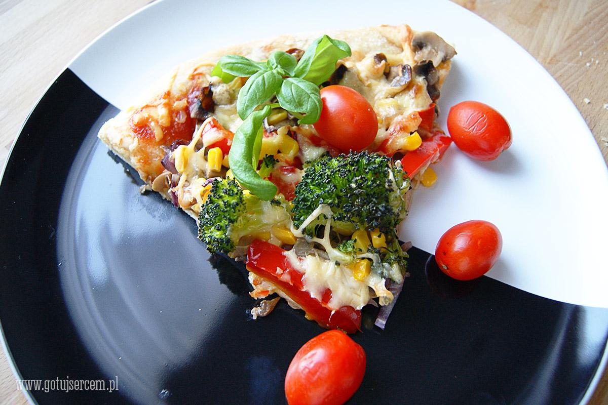 Pizza-wegetarianska